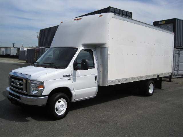 2014 Ford E350 Box Van Truck