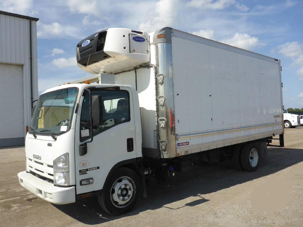 2014 ISUZU NRR Box Van Truck