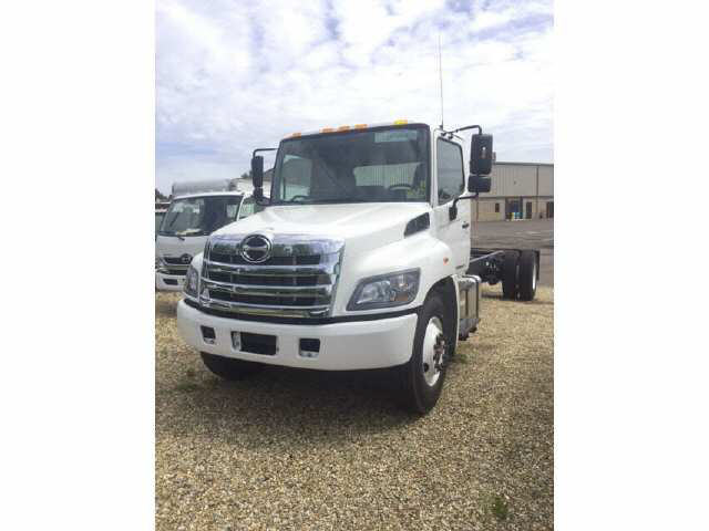 2018 HINO 268A Cab Chassis Truck