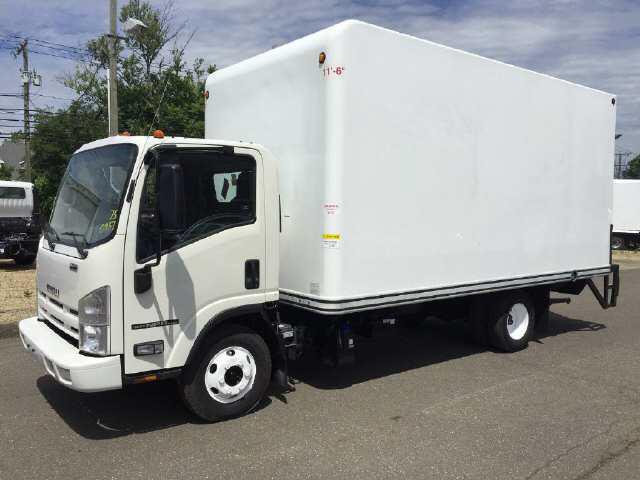 2014 ISUZU NPR HD Box Van Truck