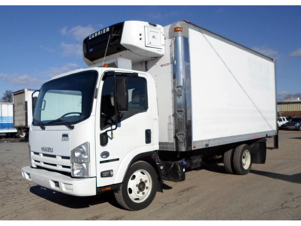 2012 Isuzu NQR Box Van Truck