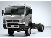 2017 Mitsubishi FG 4X4 Cab Chassis Truck
