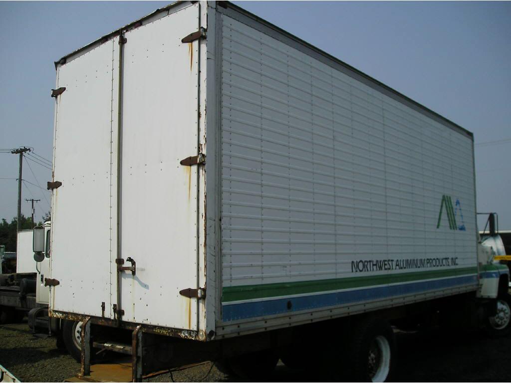 20ft Van Body 710WD22-104