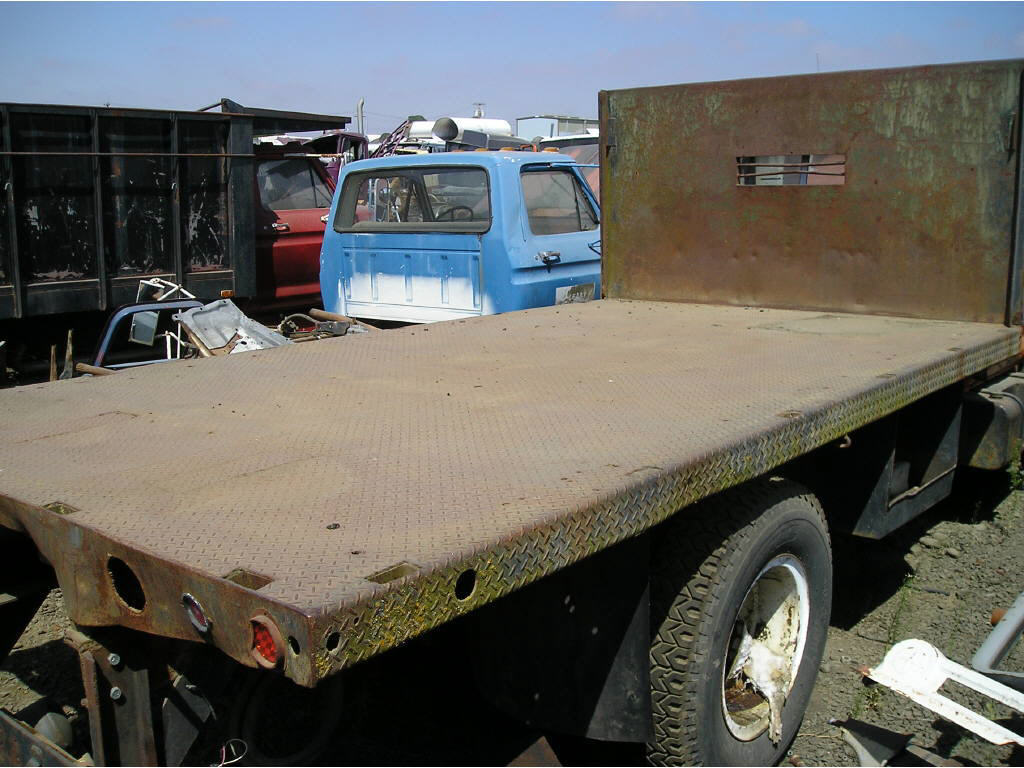 14' Flatbed All Steel Frame