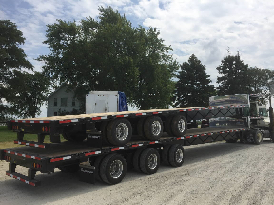 2018 Transcraft 734S Steel Drop