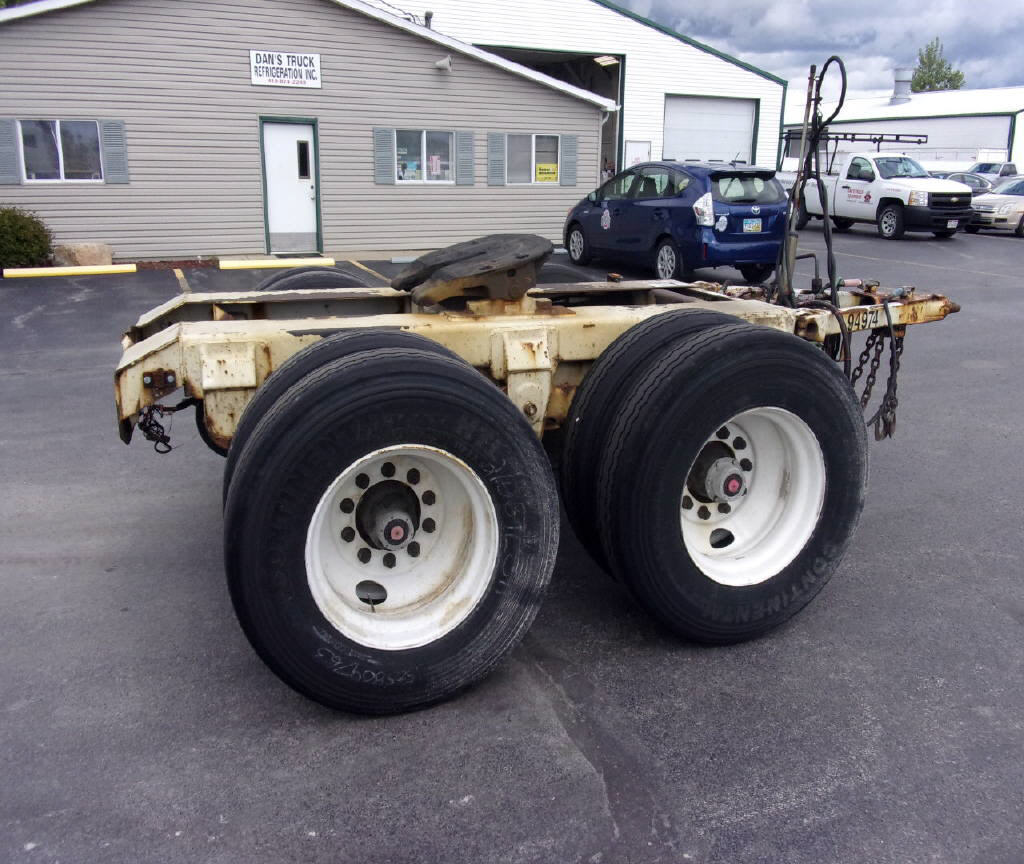 2004 Silver Eagle Tandem dolly Co