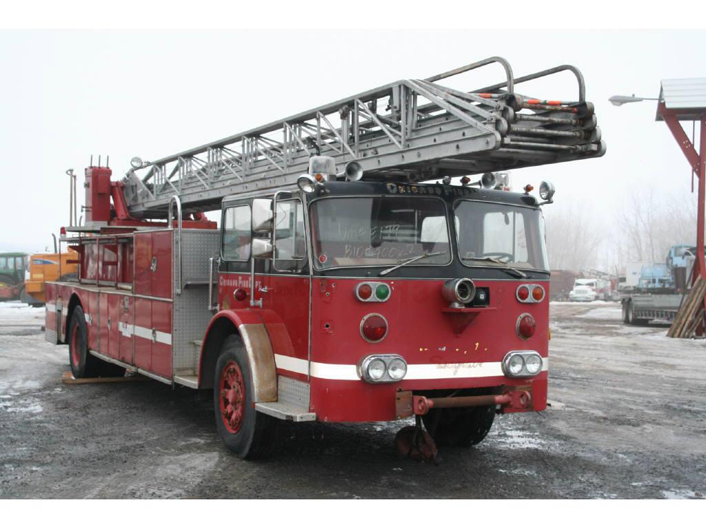 1970 Seagrave fire truck