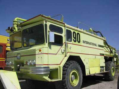 Walter Pumper Truck