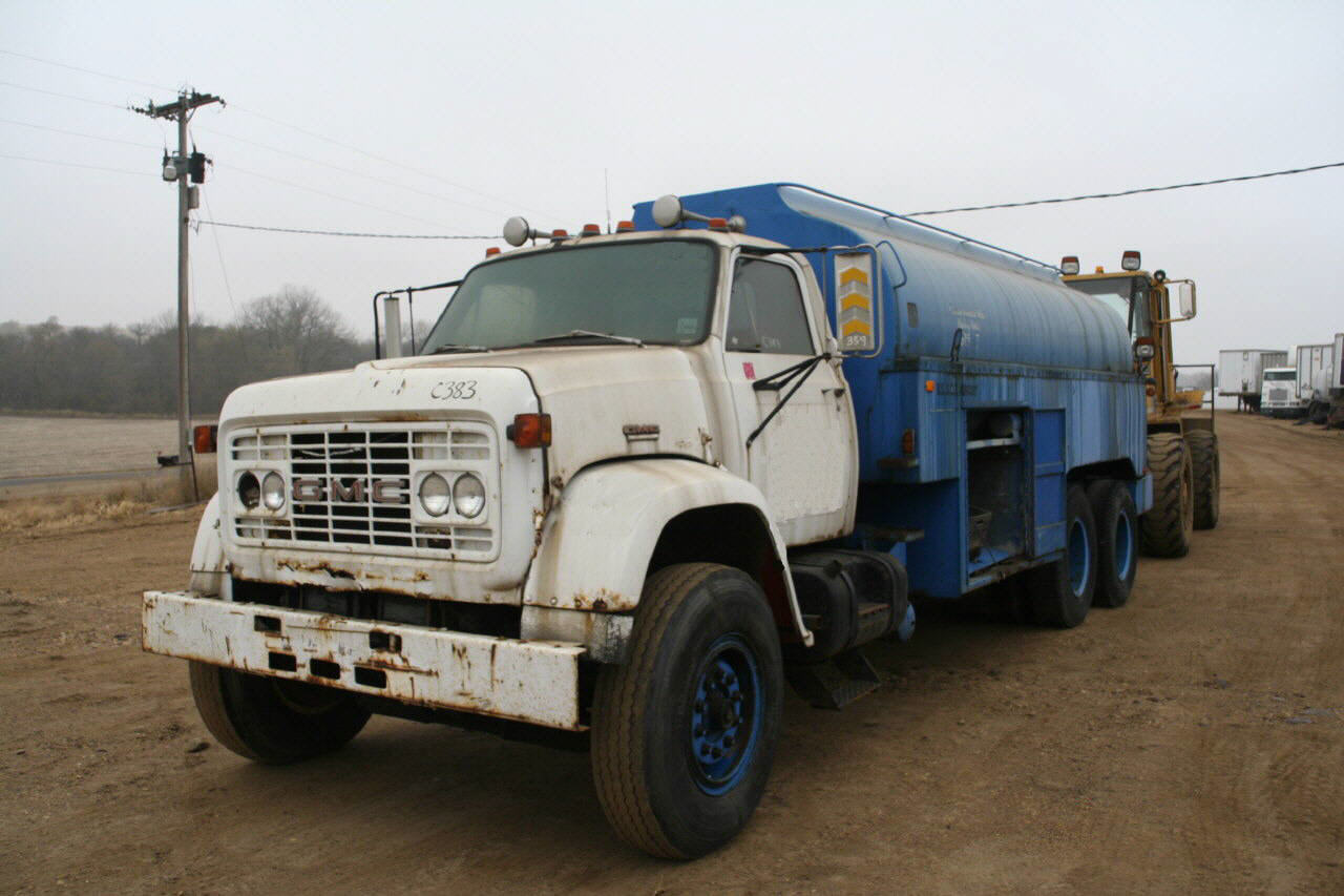 1979 GMC Fuel/Lube Truck