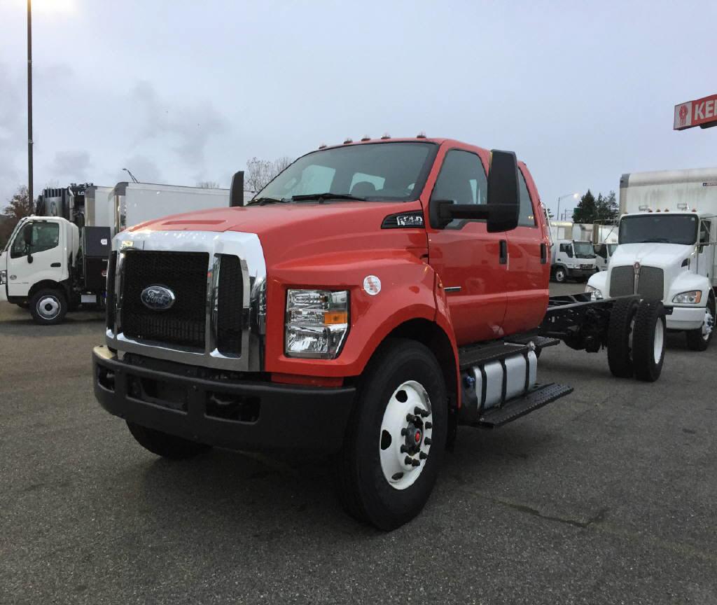 2017 Ford F750-Crew/Cab