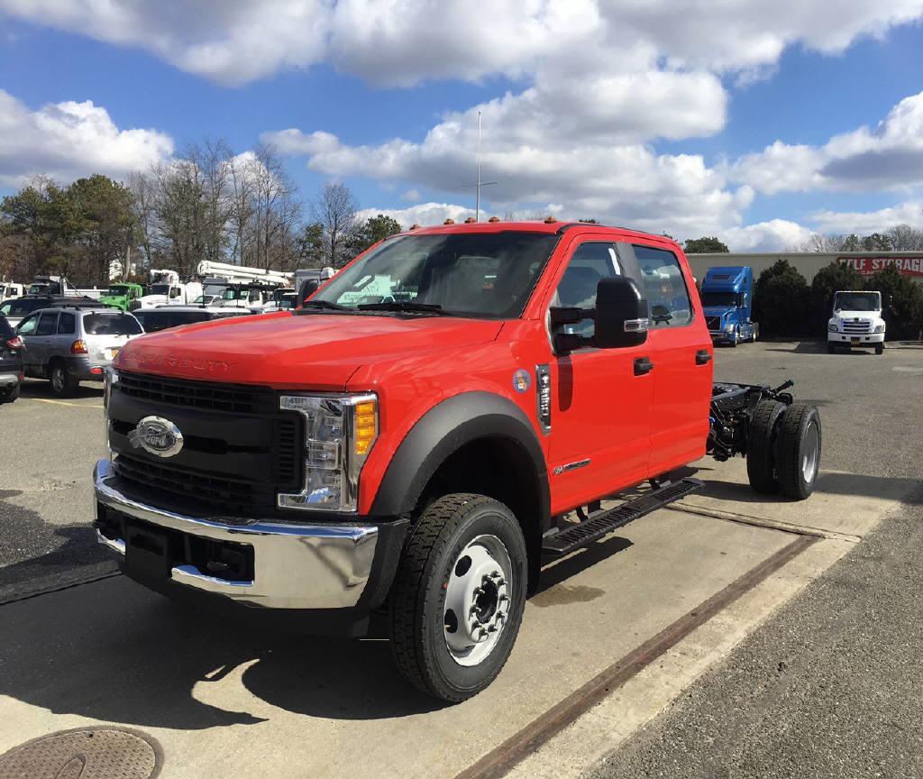 2017 Ford F550-Crew/Cab