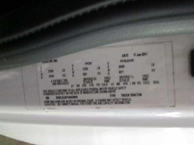 2012 International PROSTAR for sale-59108005
