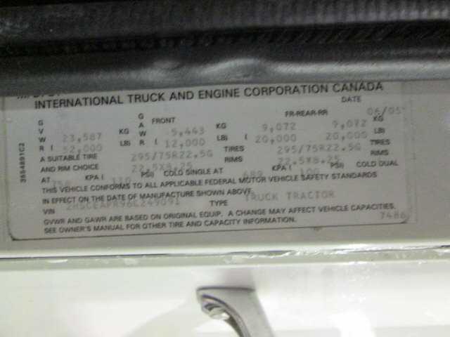 2006 International 9200i SBA for sale-59137859