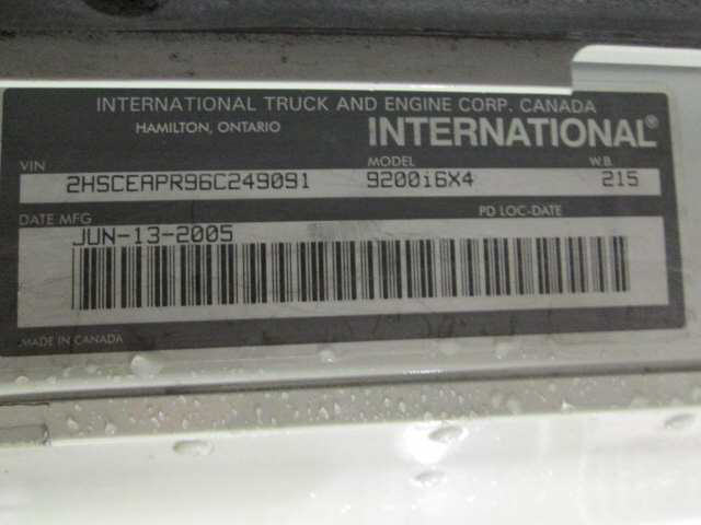 2006 International 9200i SBA for sale-59108013