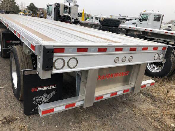 2019 Manac Aluminum Flatbe for sale-59116683