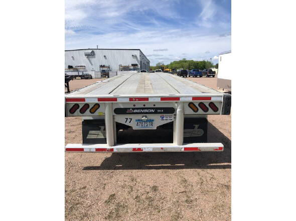 2017 Benson Aluminum Flatbe for sale-59226747