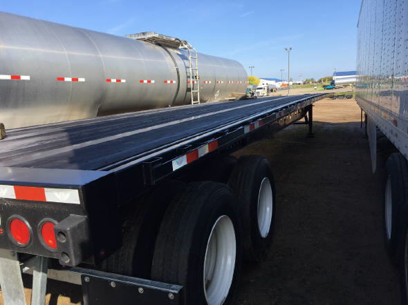 2017 Manac Steel Flatbed for sale-47747491
