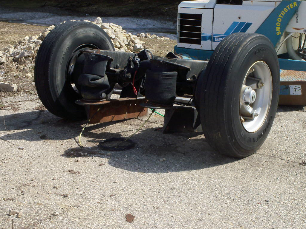 2001 New Way Pusher Axle for sale-59137785