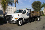 Used 2005 Ford F650 14'STAKE B for Sale