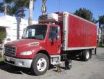 Used 2007 Freightliner M2 18' VAN WITH for Sale