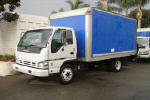 Used 2007 Isuzu NQR 14' VAN for Sale