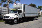 Used 2007 Hino 268A 24' REEFER for Sale