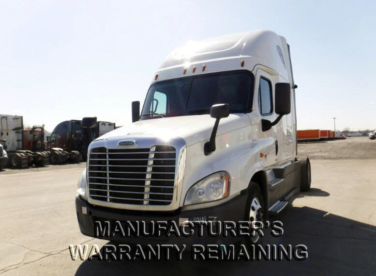 USED 2016 FREIGHTLINER CASCADIA SLEEPER TRUCK #118771