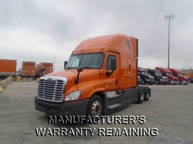 USED 2014 FREIGHTLINER CASCADIA DAYCAB TRUCK #122583