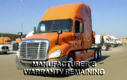 USED 2012 FREIGHTLINER CASCADIA SLEEPER TRUCK #44801