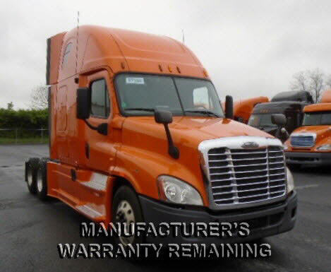 USED 2012 FREIGHTLINER CASCADIA SLEEPER TRUCK #80955