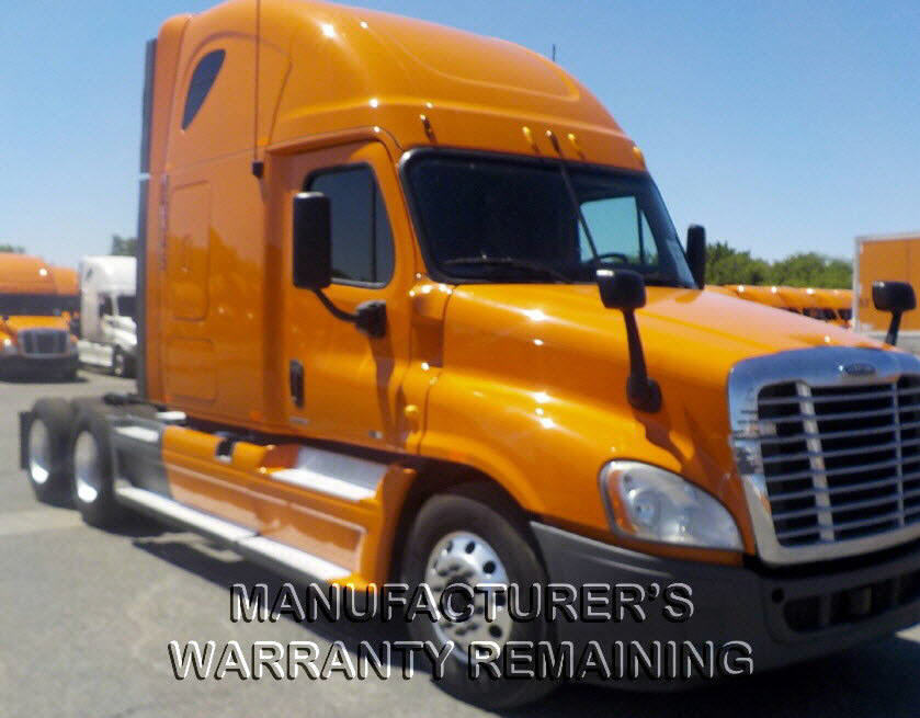 USED 2012 FREIGHTLINER CASCADIA SLEEPER TRUCK #77224