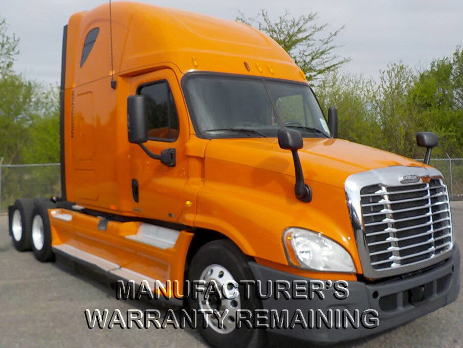 USED 2012 FREIGHTLINER CASCADIA SLEEPER TRUCK #78023
