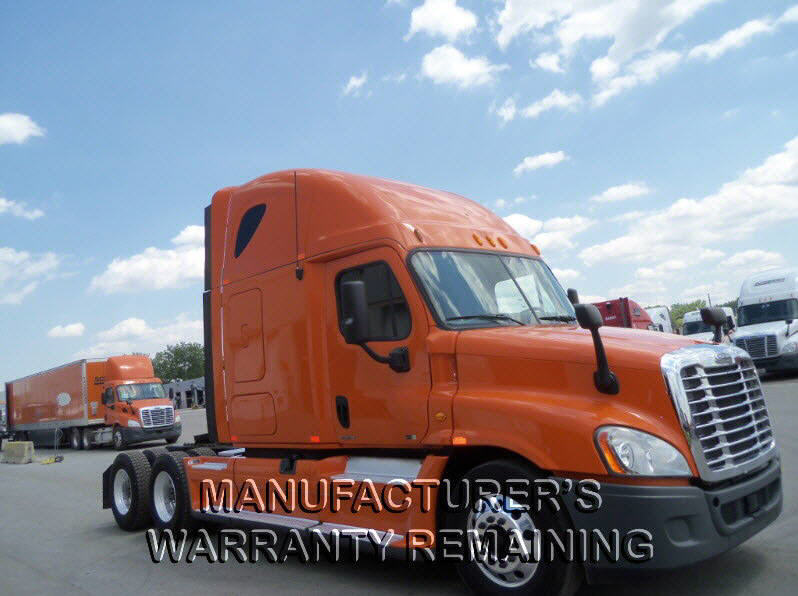 USED 2012 FREIGHTLINER CASCADIA SLEEPER TRUCK #88135