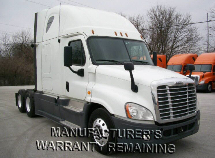 USED 2013 FREIGHTLINER CASCADIA SLEEPER TRUCK #116634