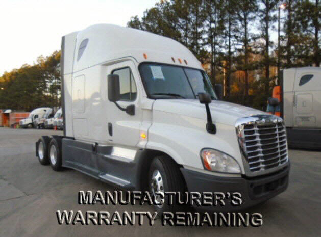 USED 2014 FREIGHTLINER CASCADIA SLEEPER TRUCK #116598