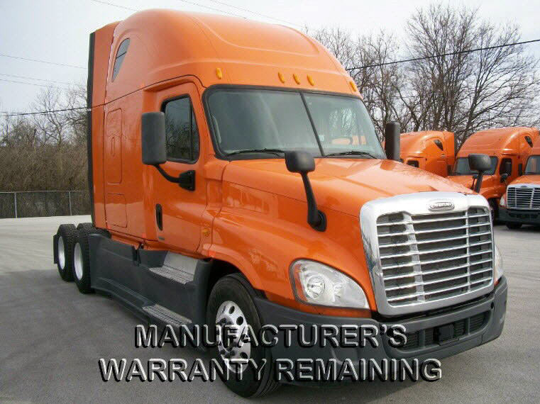 USED 2014 FREIGHTLINER CASCADIA SLEEPER TRUCK #116636