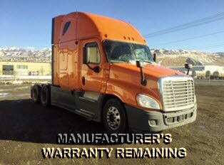 USED 2013 FREIGHTLINER CASCADIA SLEEPER TRUCK #105232