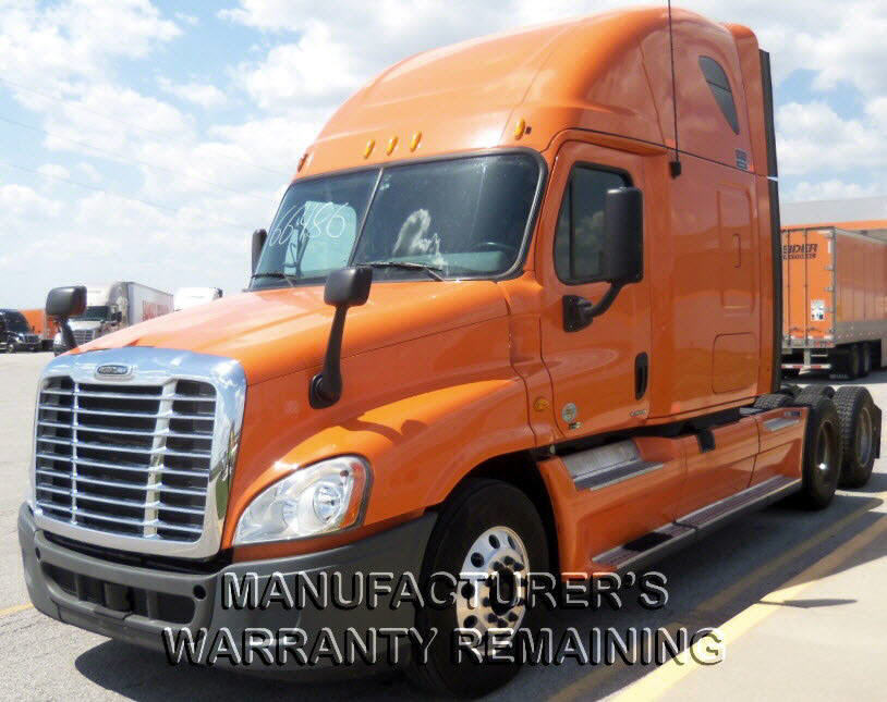 USED 2012 FREIGHTLINER CASCADIA SLEEPER TRUCK #79409
