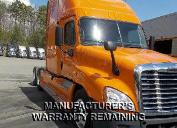 USED 2012 FREIGHTLINER CASCADIA SLEEPER TRUCK #76489