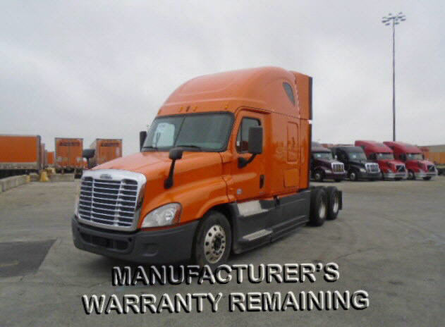 USED 2014 FREIGHTLINER CASCADIA DAYCAB TRUCK #122582