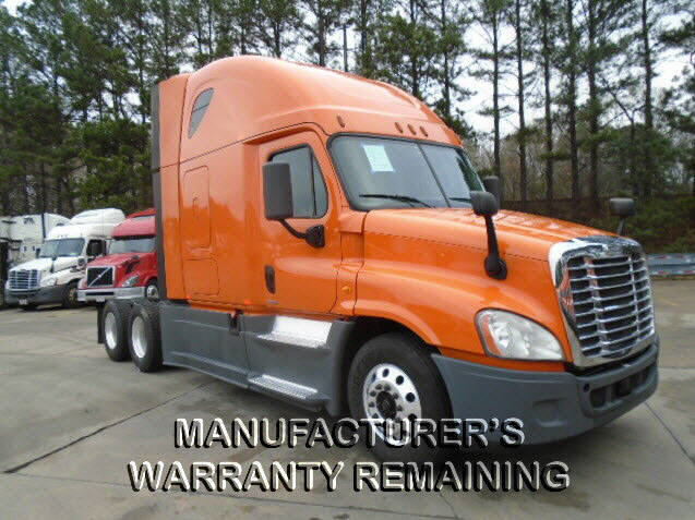 USED 2014 FREIGHTLINER CASCADIA DAYCAB TRUCK #113624