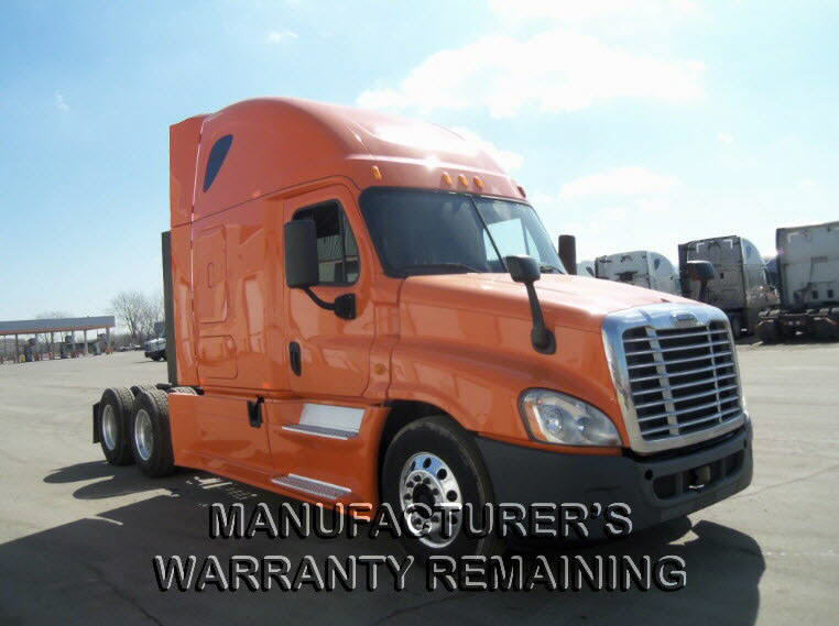 USED 2013 FREIGHTLINER CASCADIA DAYCAB TRUCK #116618