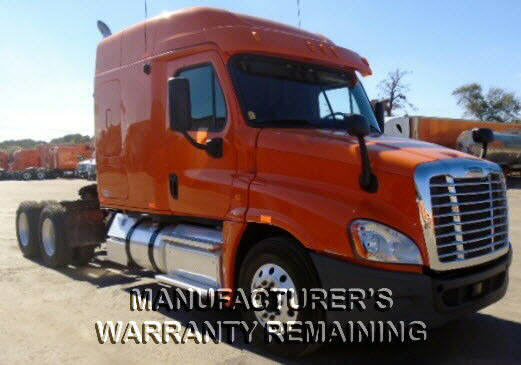USED 2013 FREIGHTLINER CASCADIA SLEEPER TRUCK #53599