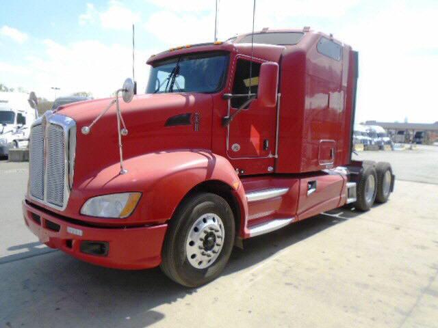 USED 2012 KENWORTH T660 SLEEPER TRUCK #32262