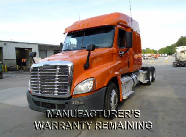 USED 2013 FREIGHTLINER CASCADIA DAYCAB TRUCK #122552