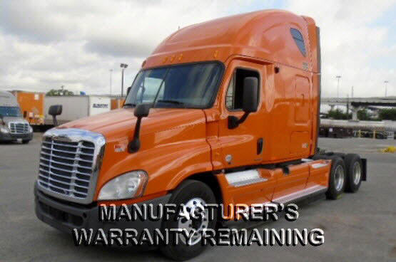 USED 2012 FREIGHTLINER CASCADIA SLEEPER TRUCK #83191
