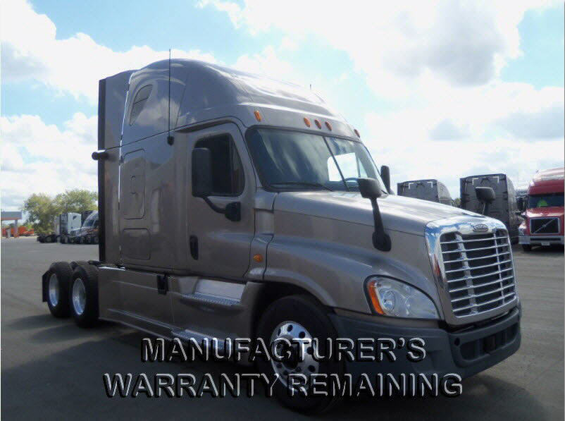 USED 2013 FREIGHTLINER CASCADIA SLEEPER TRUCK #99326