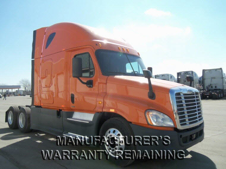 USED 2014 FREIGHTLINER CASCADIA SLEEPER TRUCK #116620