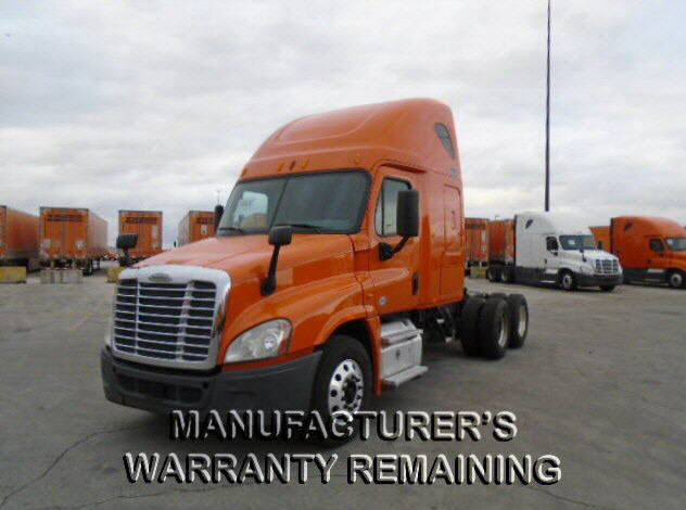 USED 2014 FREIGHTLINER CASCADIA SLEEPER TRUCK #118077