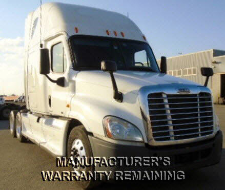USED 2012 FREIGHTLINER CASCADIA SLEEPER TRUCK #53585